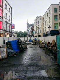 Renovation works underway on Grafton Street