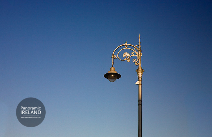 One of Dublin's famous lamps
