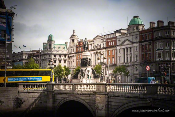 Dublin Bus at O'Connell Street in Dublin