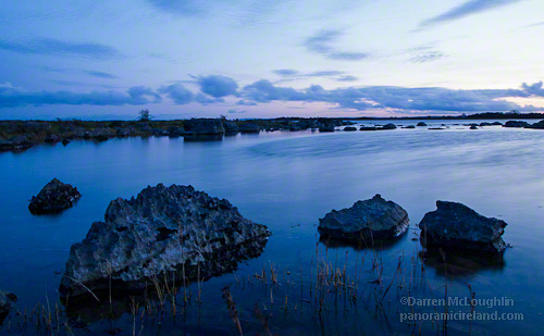 Blue Hour At Lough Corrib