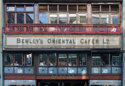 Bewley's Coffee Shop, Grafton Street, Dublin