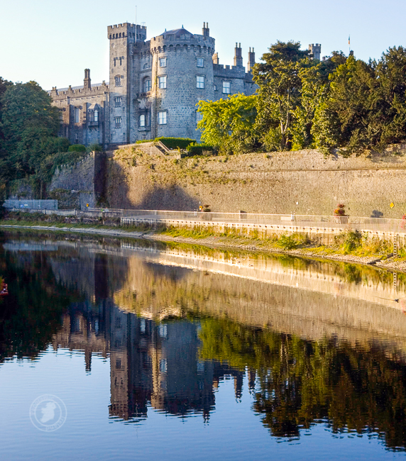 Kilkenny Castle reflected in the River Nore