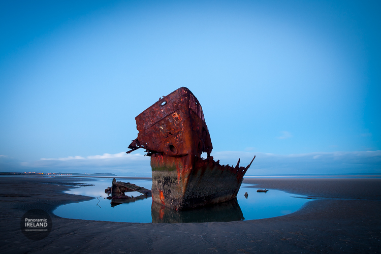 The Irish Trader, Shipwreck on the Irish Sea coast of Ireland