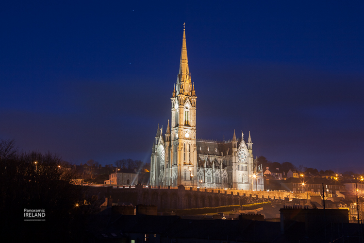 Cobh Cathedral, County Cork. Cobh was Titanic's last port of call.