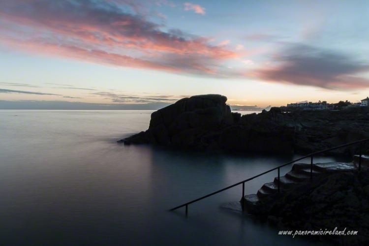 sunrise on dublin bay