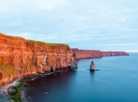 Google's Doodle of the Day for Saint Patrick's Day 2020 is the Cliffs of Moher