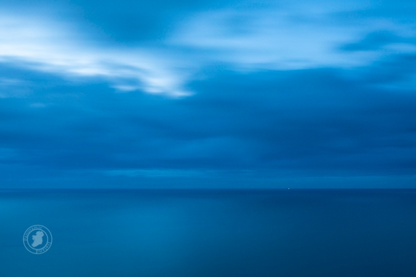 Blue Hour Seascape, artwork by Darren McLoughlin