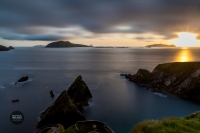 Dingle Peninsula - Dunquin and the Blaskets at Sunset