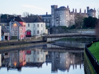 Kilkenny, the Castle and River Nore