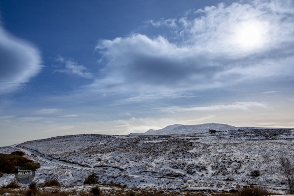 Snow in the Irish Mountains, February 2020