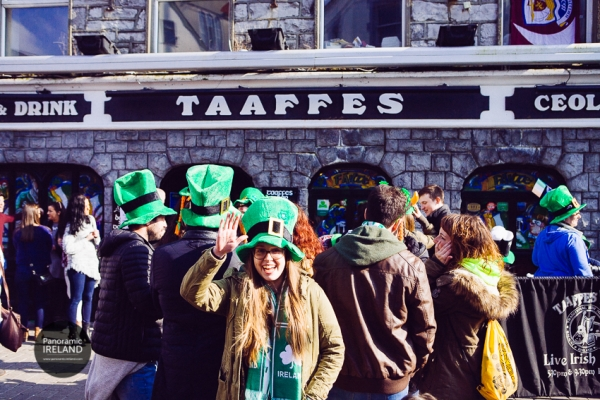 Friendly Galway on Saint Patrick's Day