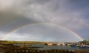 Rainbow over Ardglass, Northern Ireland