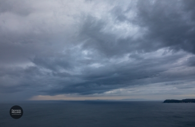 Storm rolls in across the Sea of Moyle