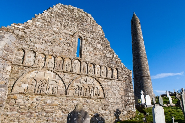 Ardmore Cathedral in County Waterford, founded by Saint Declan in the 5th Century