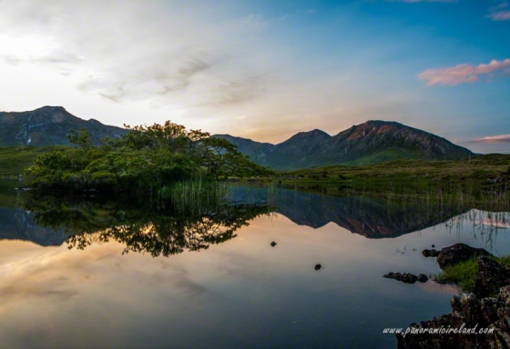 Lake Reflection - Connemara