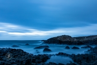 After sunset, Blue Hour at the Giant's Causeway