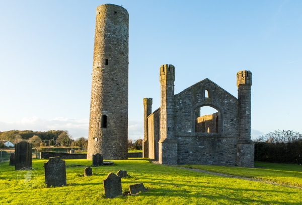 Taghadoe round tower in County Kildare is 1,000 years old