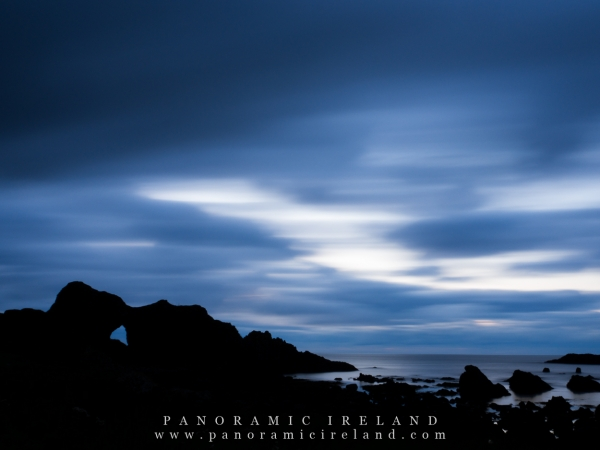 Blue Hour on the Antrim Coast